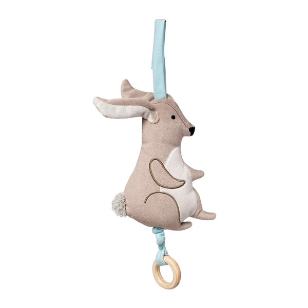 Manhattan Toy Camp Acorn Bunny Pull Cotton Musical Crib Toy