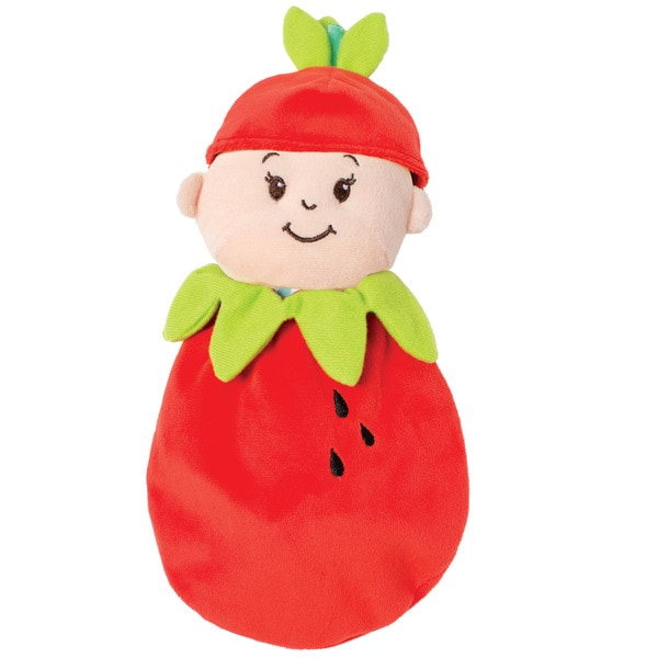 Manhattan Toy Wee Baby Stella Snuggle Strawberry Cotton Doll