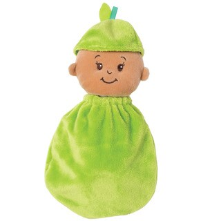 Manhattan Toy Wee Baby Stella Snuggle Pear Doll - Green/Tan