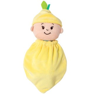 Manhattan Toy Wee Baby Stella Snuggle Lemon Cotton Doll - Yellow
