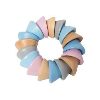 Manhattan Toy Baby Cones Multicolor Plastic Teether Toy