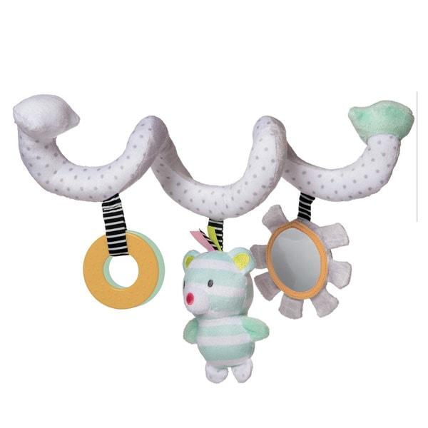 Manhattan Toy Playtime Multicolored Cotton Plush Activity Bear Spiral