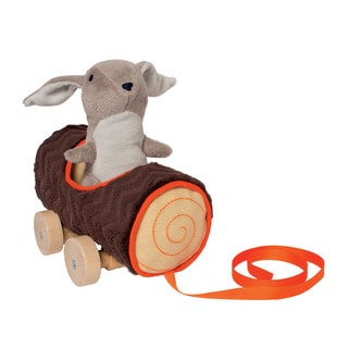 Manhattan Toy Camp Acorn Bunny Pull Toy