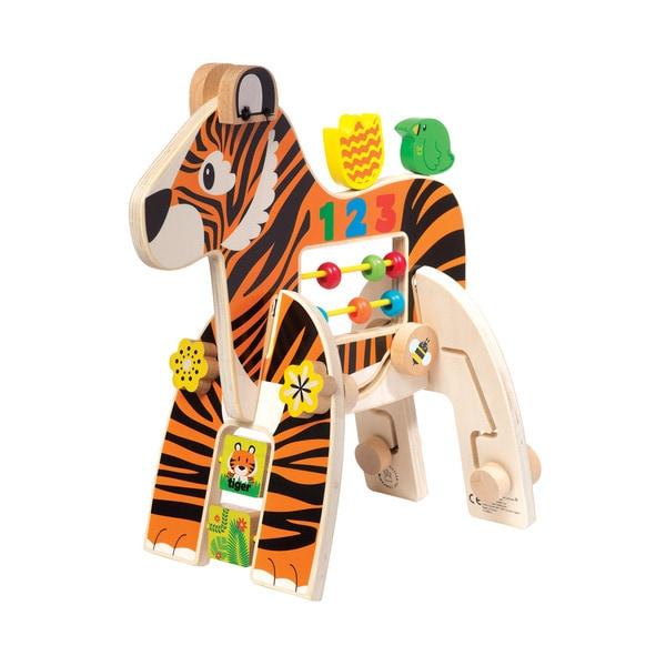 Manhattan Toy Wood Safari Tiger