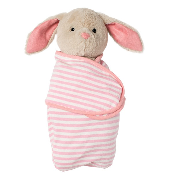 Manhattan Toy Swaddle Baby Bunny Stuffed Toy