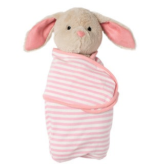 Manhattan Toy Swaddle Baby Bunny Stuffed Toy