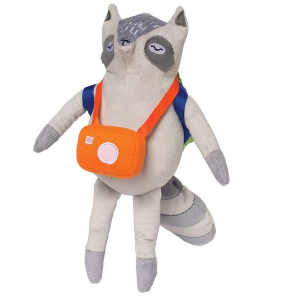 Manhattan Toy Camp Acorn Raccoon Explorer Plush w/ Accessories