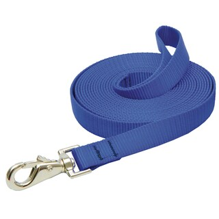 "Lupine Collars & Leads 3/4"" X 15' Blue Training Lead"