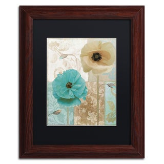 Color Bakery 'Beach Poppies I' Matted Framed Art
