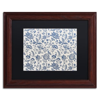 Color Bakery 'Toile Fabrics IX' Matted Framed Art