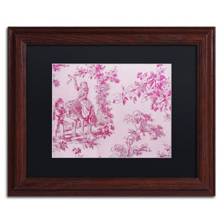 Color Bakery 'Toile Fabrics IV' Matted Framed Art
