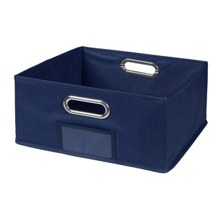 Niche Cubo Half-Size Foldable Fabric Storage Bin (Option: Green)