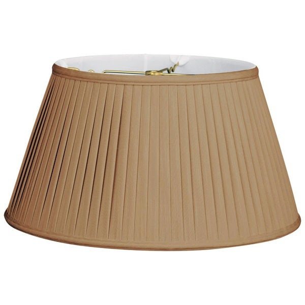 Royal Designs Royal Designs 6Way Out Scallop Bell Basic Lamp Shade, Antique Gold, 8 x 12.5 x 7.5
