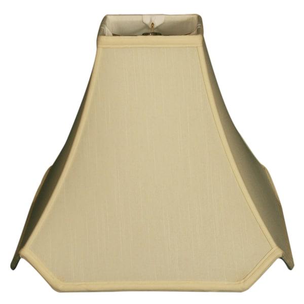 Royal Designs Pagoda Basic Lamp Shade, Eggshell, 3.5 x 8 x 7