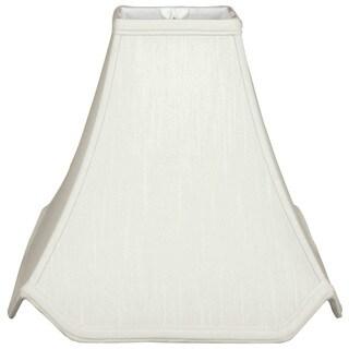 Royal Designs Pagoda Basic Lamp Shade, White, 7 x 18 x 15.5