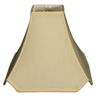 Royal Designs Pagoda Basic Lamp Shade, Eggshell, 7 x 18 x 15.5