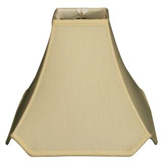 Royal Designs Pagoda Basic Lamp Shade, Eggshell, 5 x 14 x 12.25