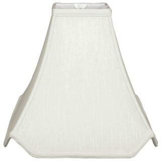 Royal Designs Pagoda Basic Lamp Shade, White, 4.5 x 12 x 11.25