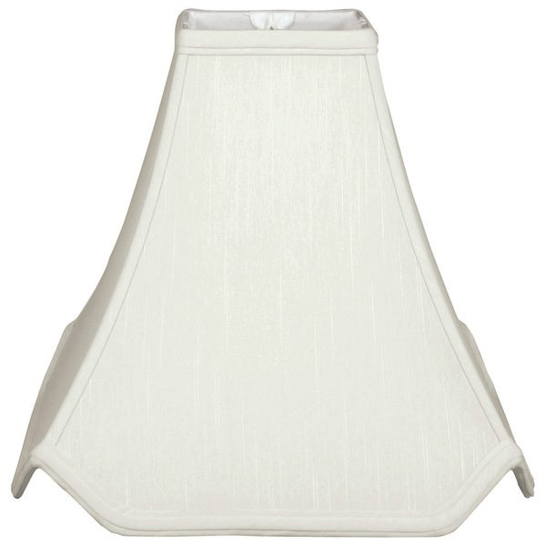 Royal Designs Pagoda Basic Lamp Shade, White, 4.5 x 12 x 11.25