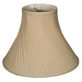 Royal Designs Twisted Pleat Basic Lamp Shade, Beige, 7 x 16 x 12
