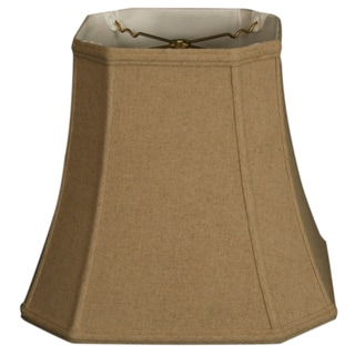 Royal Designs Square Cut Corner Basic Lamp Shade, Linen Cream, 10 x 16 x 14