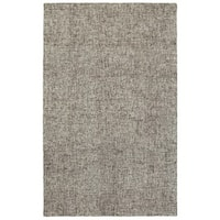 Style Haven Acciaio Boucle Grey Wool Handcrafted Area Rug - 5' x 8'