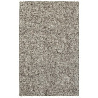 Style Haven Acciaio Boucle Grey Wool Handcrafted Area Rug (5' x 8')