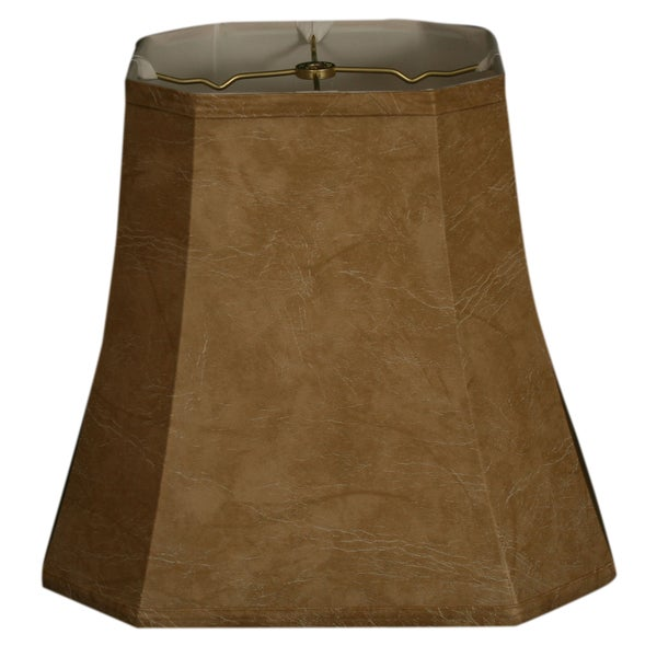 Royal Designs Square Cut Corner Basic Lamp Shade, Mouton, 9.5 x 15 x 13.5