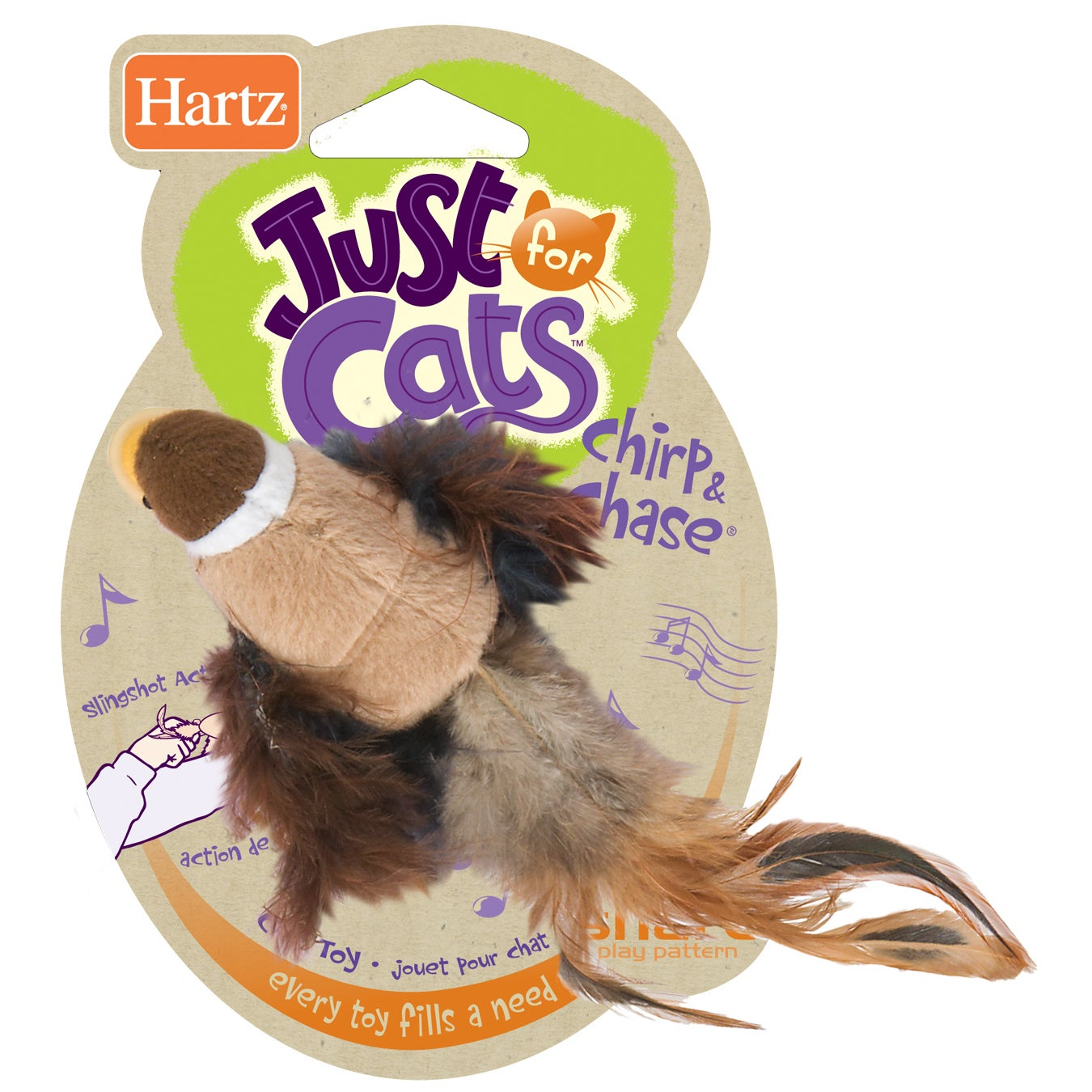 Hartz Chirp 'N Chase Cat Toy (Toy)