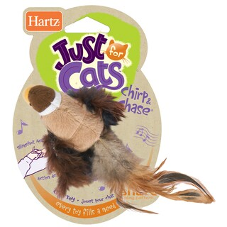 Hartz Chirp 'N Chase Cat Toy