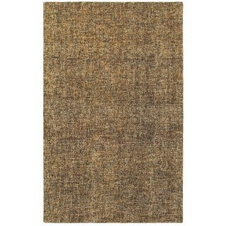 Style Haven Areia Boucle Brown/Beige Wool Handcrafted Area Rug (5' x 8') - 5' x 8'