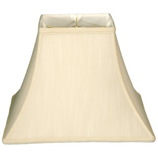 Royal Designs Square Bell Basic Lamp Shade, Eggshell, 8 x 16 x 12.5