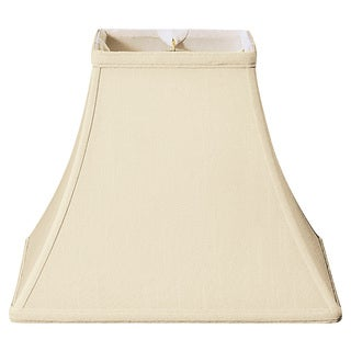 Royal Designs Square Bell Basic Lamp Shade, Beige, 8 x 16 x 12.5