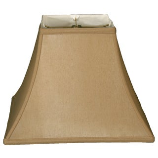 Royal Designs Square Bell Basic Lamp Shade, Antique Gold, 7 x 14 x 11.5