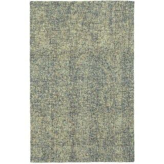 Style Haven Azure Boucle Blue/Green Wool Handcrafted Area Rug (5' x 8')