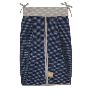 Trend Lab Perfectly Preppy Blue Diaper Stacker