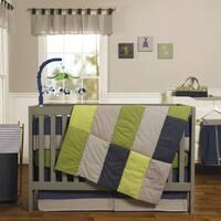 Perfectly Preppy 3 Piece Crib Bedding Set
