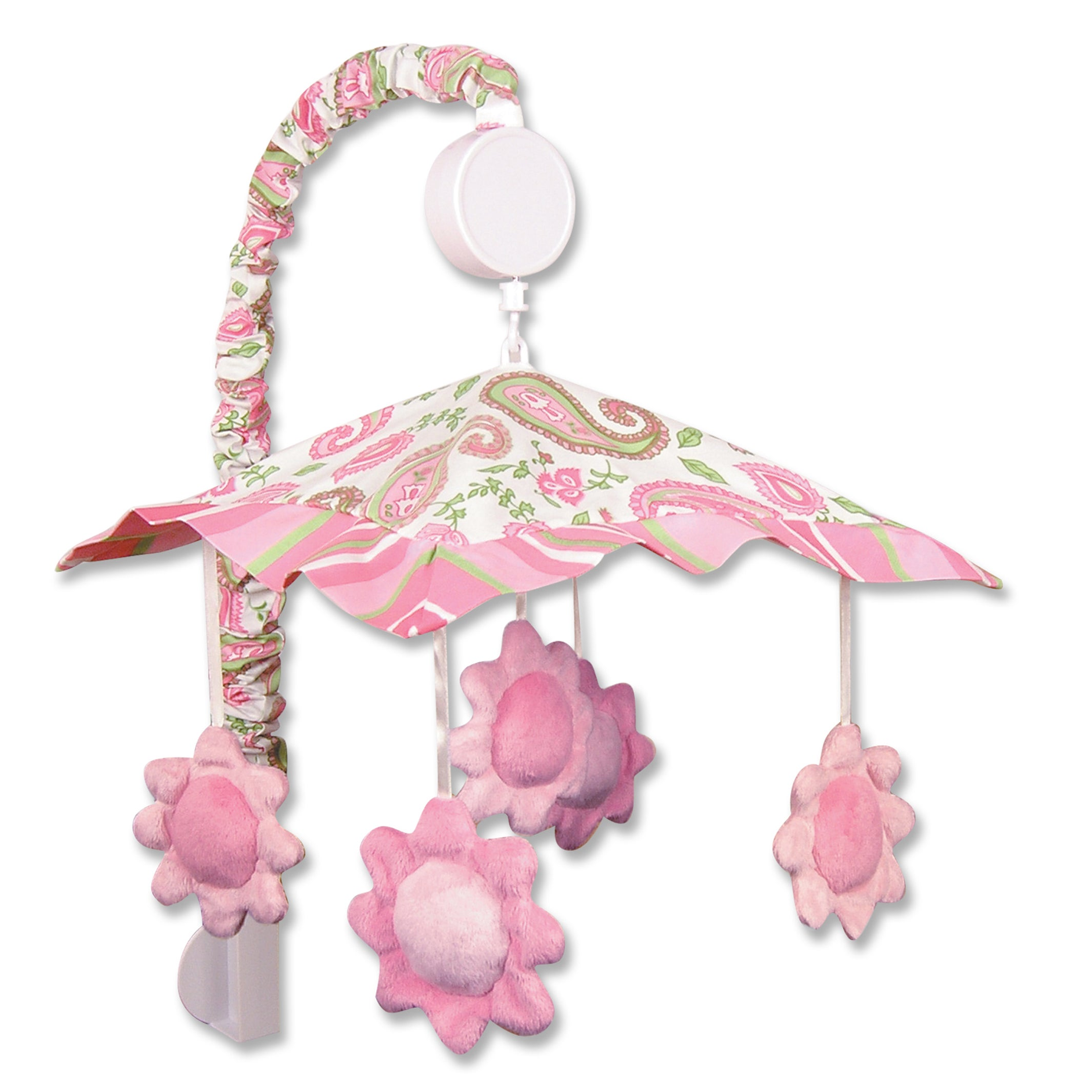Trend Lab Paisley Park Pink Musical Mobile (17 in x 24 in...