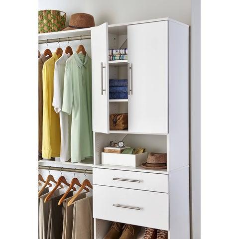 ClosetMaid SuiteSymphony Modern 25-Inch Door Pair