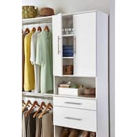 ClosetMaid SuiteSymphony Modern 25-Inch Door Pair