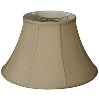 Royal Designs Square Inverted Cut Corner Basic Lamp Shade, Beige, 5 x 10 x 8