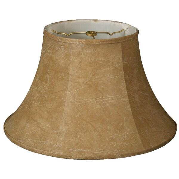 Royal Designs Shallow Bell Basic Lamp Shade, Mouton, 6 x 13 x 8.5