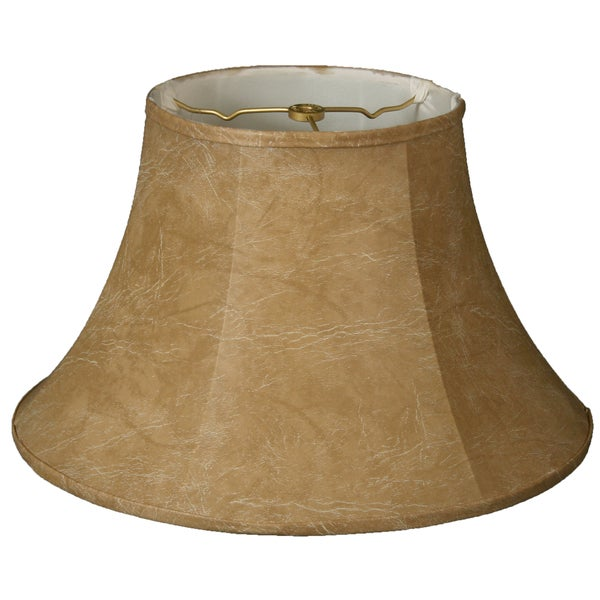 Royal Designs Shallow Bell Basic Lamp Shade, Mouton, 9 x 18 x 12