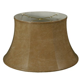Royal Designs Shallow Drum Bell Billiotte Lamp Shade, Mouton, 13 x 19 x 11.26, BS-711-19MT