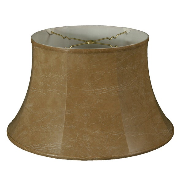 Royal Designs Shallow Drum Bell Billiotte Lamp Shade, Mouton, 11 x 17 x 11, BS-711-17MT