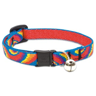 "Lupine Collars & Leads 1/2 X 8""-12"" Lollipop Cat Collar With Bell"
