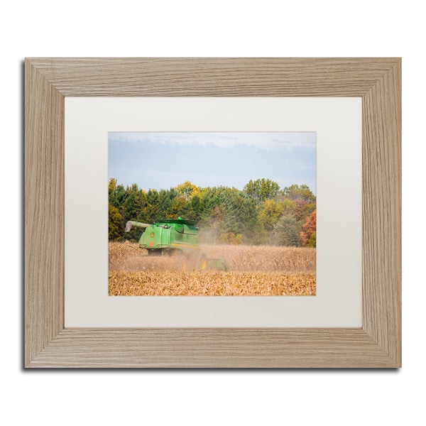 Shop Jason Shaffer John Deere Matted Framed Art Free Shipping