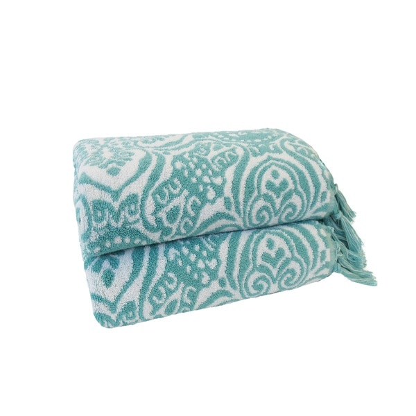 Jessica Simpson Bath Towel Jacquards - Sunita