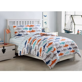 VCNY Home Finn Shark 7-piece Bed in a Bag Set