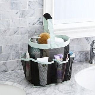 Tusk Storage Mesh Deluxe Shower Tote (Option: Green)